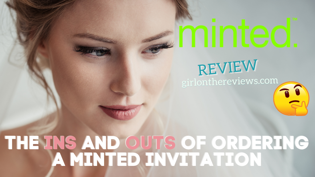 Minted Wedding Invitations Review