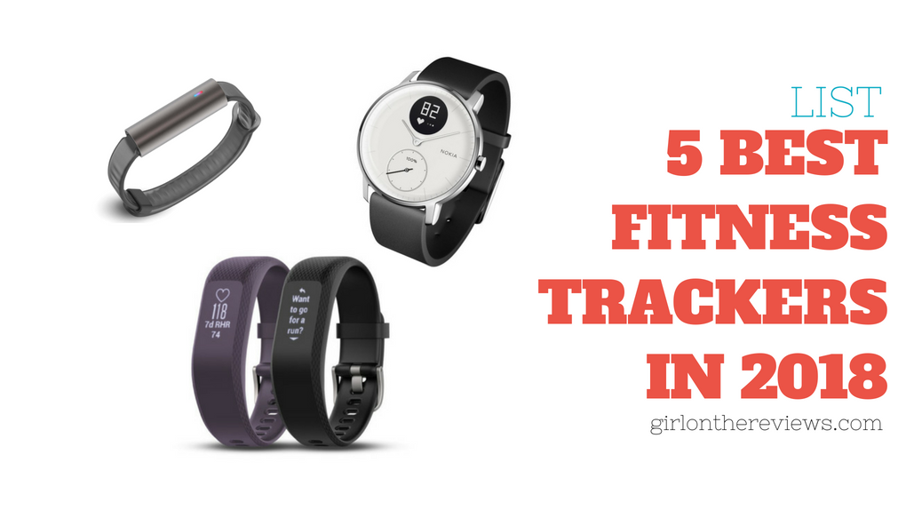 The 5 Best Fitness Trackers in 2018