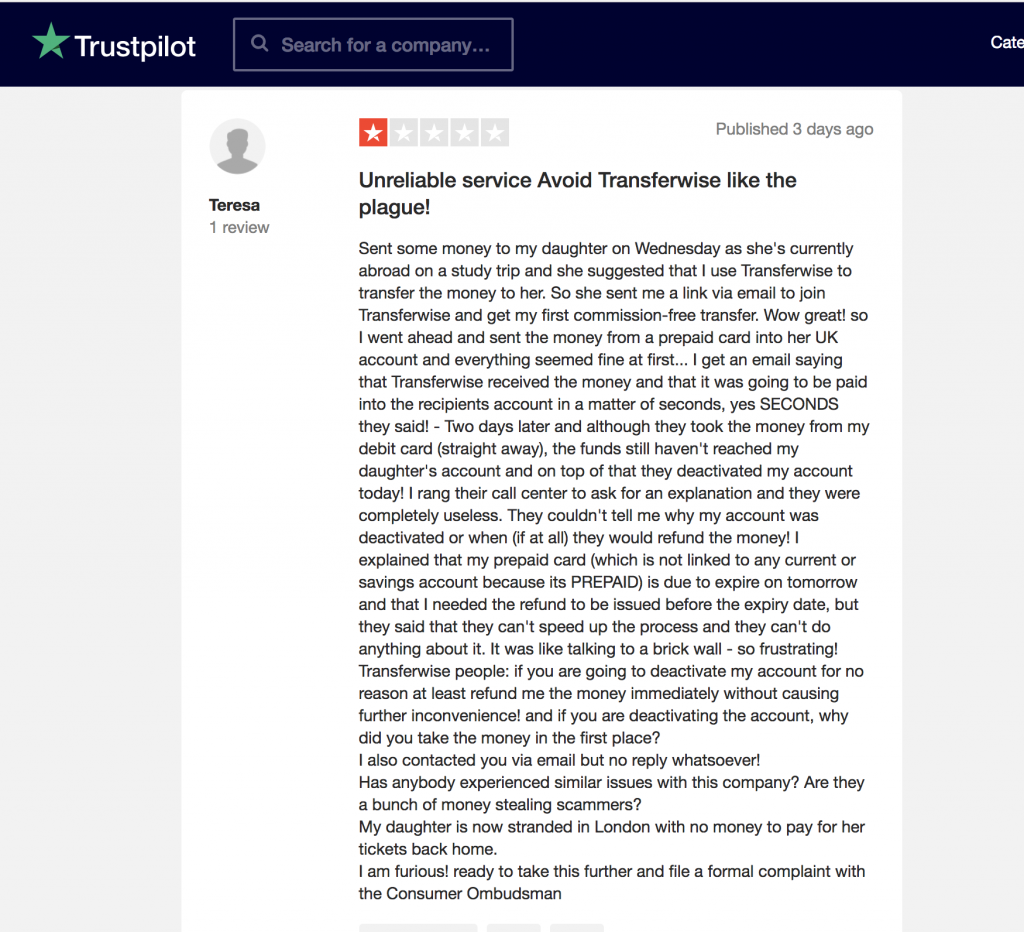 TransferWise Reviews | Girl On The Reviews | September 2019